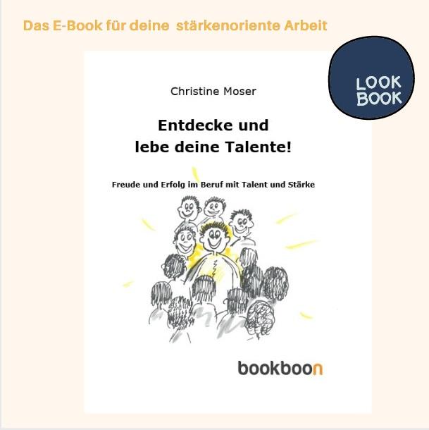 Ebook Entdecke deine Talente Christine Moser